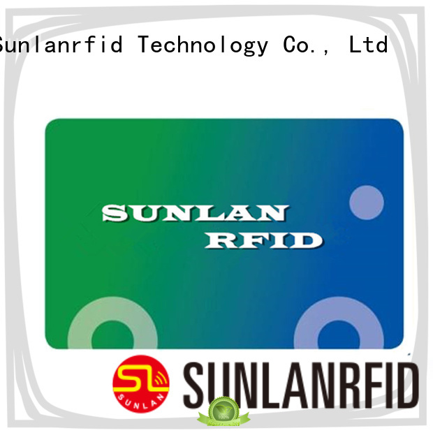 Sunlanrfid Custom pre visa card manufacturers for time and attendance