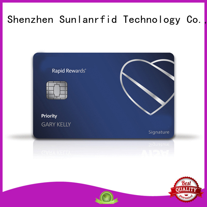 Sunlanrfid prepaid prepaid money cards wholesale for time and attendance