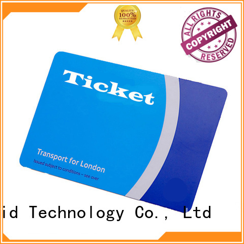 ultralight metro card desfire series for bus