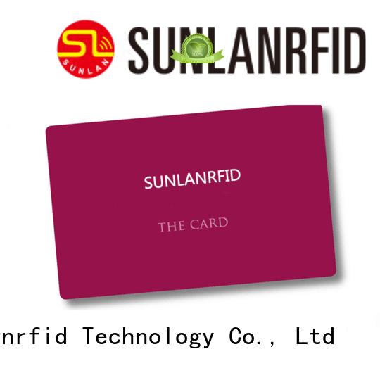 Sunlanrfid Brand card student school id card icode factory