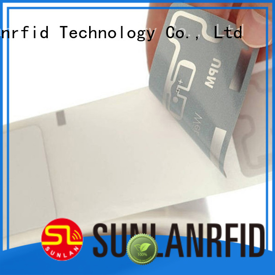 Sunlanrfid inlay inlay stickers company for clothing store