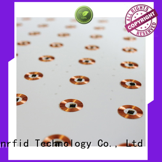 Quality Sunlanrfid Brand 125khz rfid inlay id round