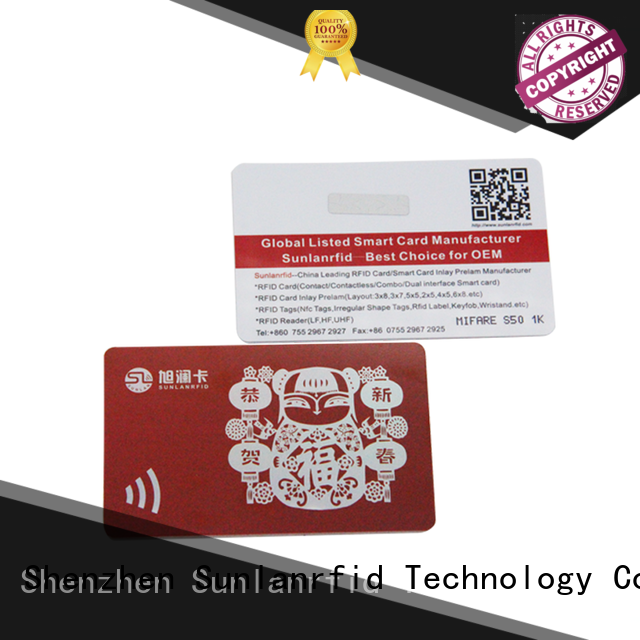 Wholesale card ntag213 rfid smart card Sunlanrfid Brand