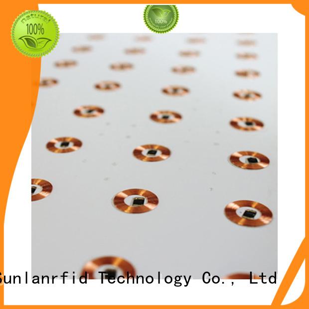 Sunlanrfid Brand antenna chip inlay inlay factory
