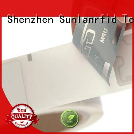 uhf inlay card wet sticker for logistics