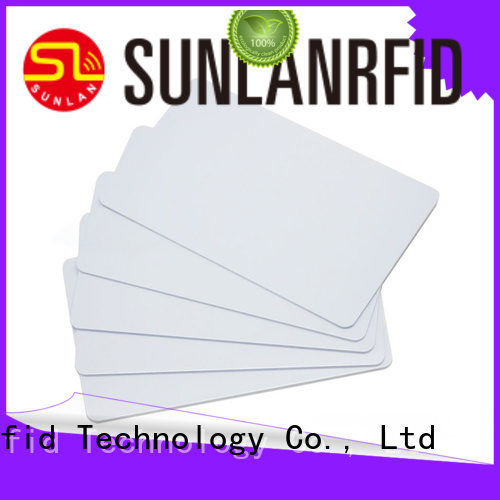 Sunlanrfid durable what is nfc card factory for time and attendance