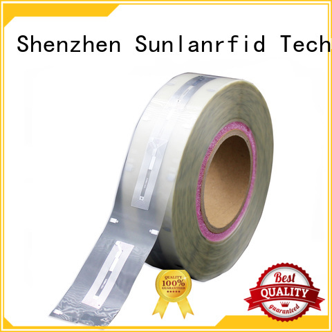 Sunlanrfid active custom rfid tags system for QR code