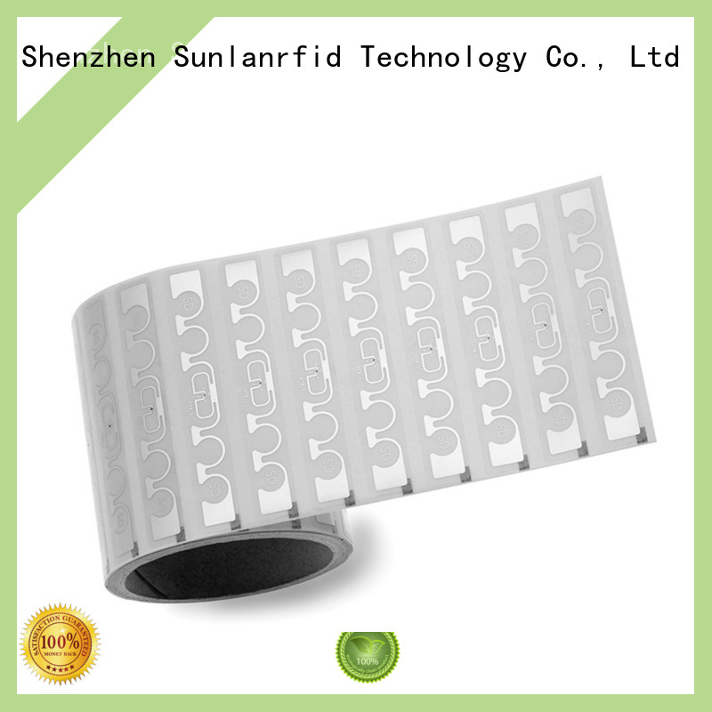 rfid uhf dry inlay writer system for transparent