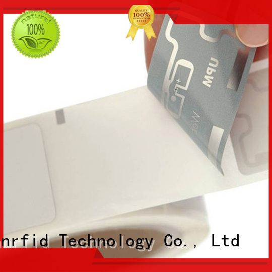 Sunlanrfid Custom inlay stickers india tag for retail management