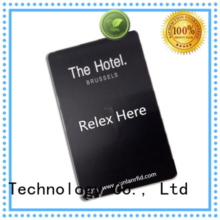 Sunlanrfid nuid key card manufacturer for hotel