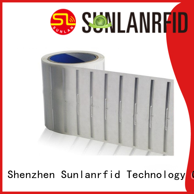 Sunlanrfid chip inlay stickers product for clothing store