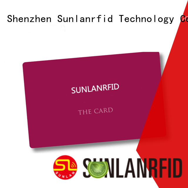 Sunlanrfid durable student card price for transportation