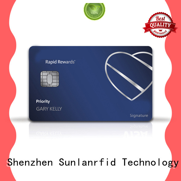 Sunlanrfid mifare pay credit card with prepaid card wholesale for transportation
