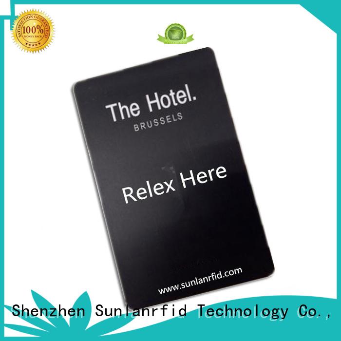 plus room key card hotel for daily life Sunlanrfid