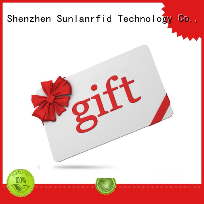 pvc ultralight® slil Sunlanrfid Brand rfid smart card supplier