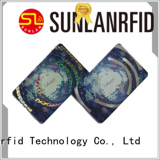 Sunlanrfid Brand card parking alien custom car parking card