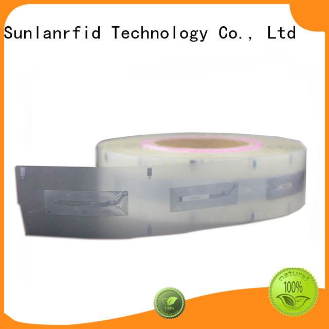 dry rfid inlay label writer for QR code Sunlanrfid