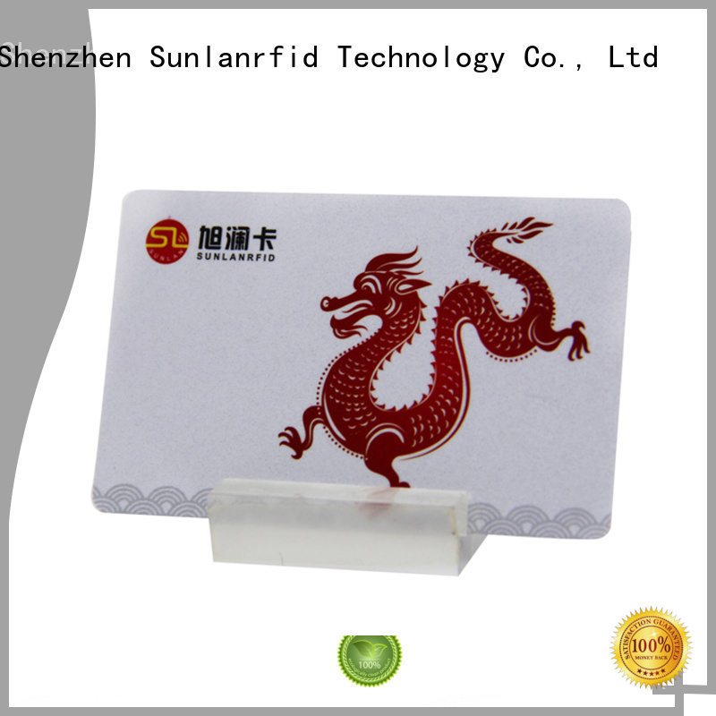 Sunlanrfid mifare prepaid money cards series for daily life