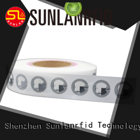 Sunlanrfid wet inlay tag company for daily life