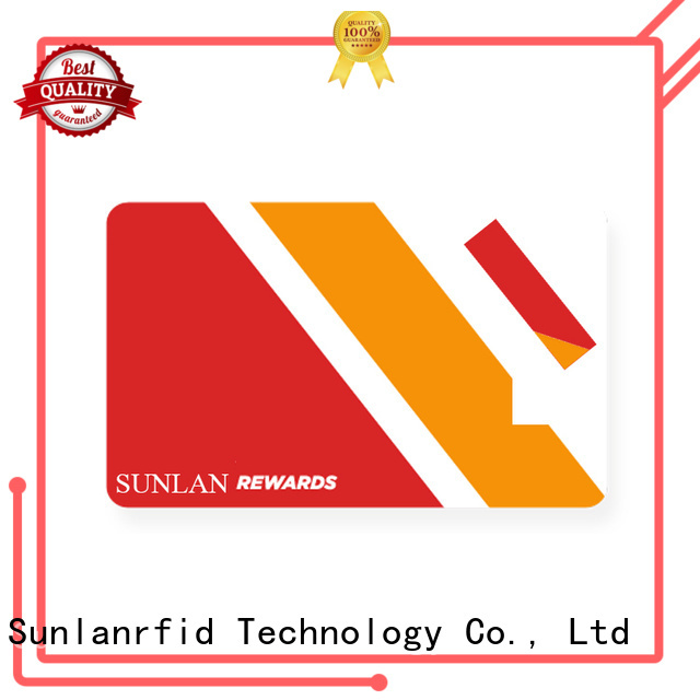 Sunlanrfid monze park card manufacturer for daily life