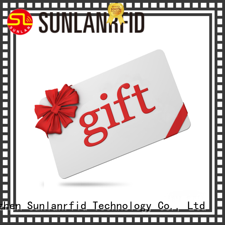 Sunlanrfid slil best loyalty cards supplier for access control