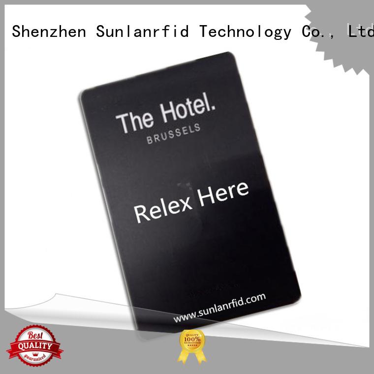 Sunlanrfid se hotel door card manufacturer for hotel
