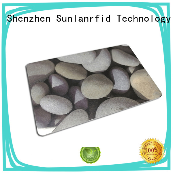 Sunlanrfid monze park card supplier for time and attendance