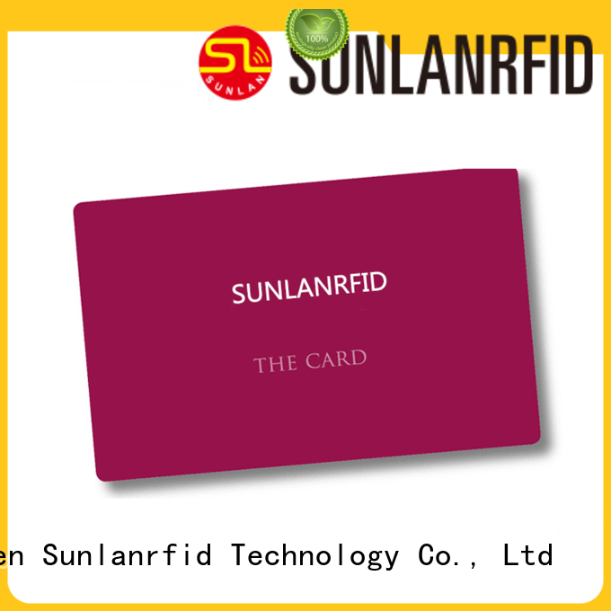 Sunlanrfid monze park card supplier for access control