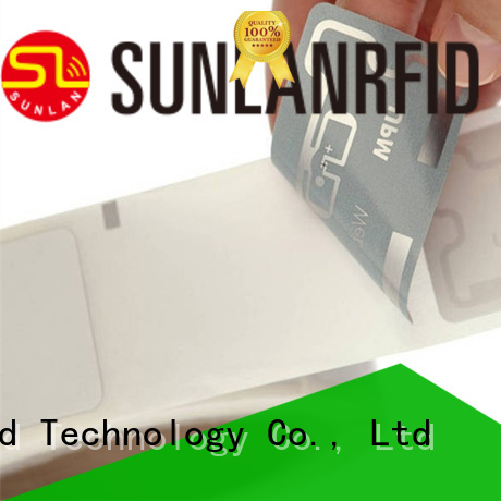 Sunlanrfid uhf custom rfid tags inlay for retail management