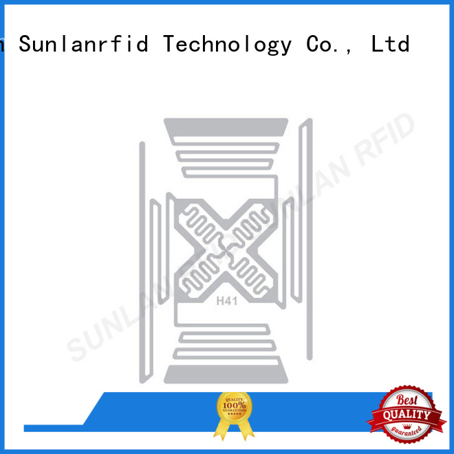 Sunlanrfid tag uhf dry inlay system for transparent