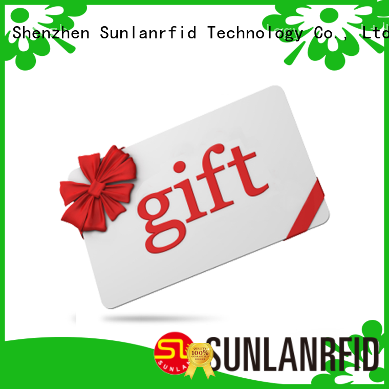 Sunlanrfid slil loyalty card cost manufacturer for access control