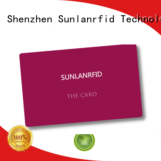 Sunlanrfid rta parking card higgs for daily life