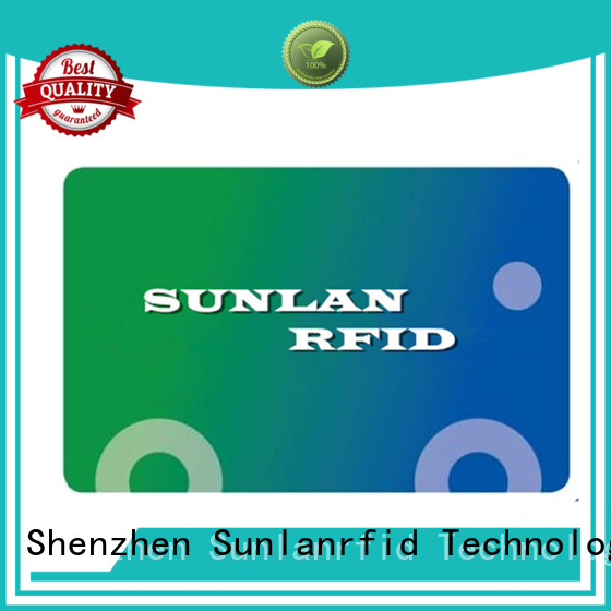 Sunlanrfid nano payment card series for daily life