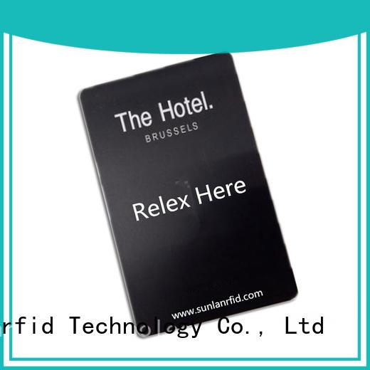 Sunlanrfid chip key card system manufacturer for opening door