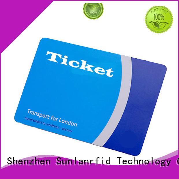 card transit desfire Sunlanrfid Brand rfid bus card factory