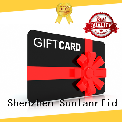 Sunlanrfid ultralight rfid smart card series for shopping Center