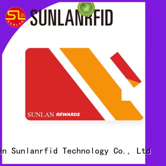 Sunlanrfid durable smart card manufacturers production shop