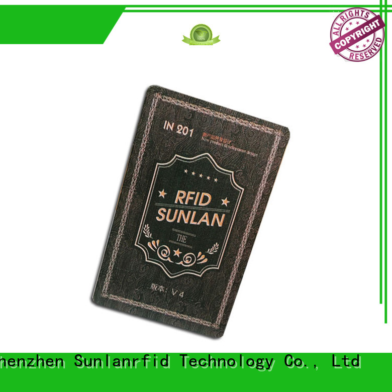 Sunlanrfid quality park card manufacturer for access control