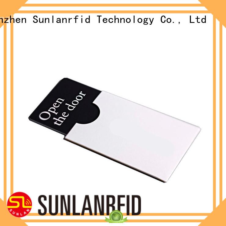 Sunlanrfid key card wholesale for hotel