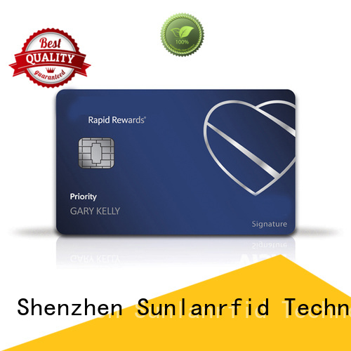 Sunlanrfid durable prepaid money cards wholesale for parking