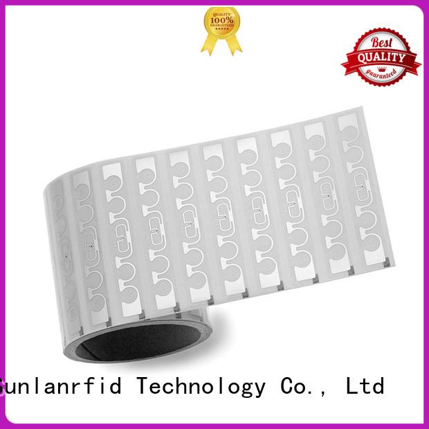 Sunlanrfid writer rfid inlay label manufacturer for transparent