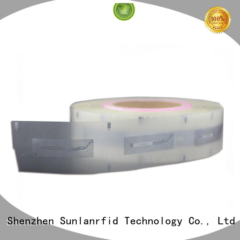 custom inlay stickers uhf Sunlanrfid Brand uhf dry inlay