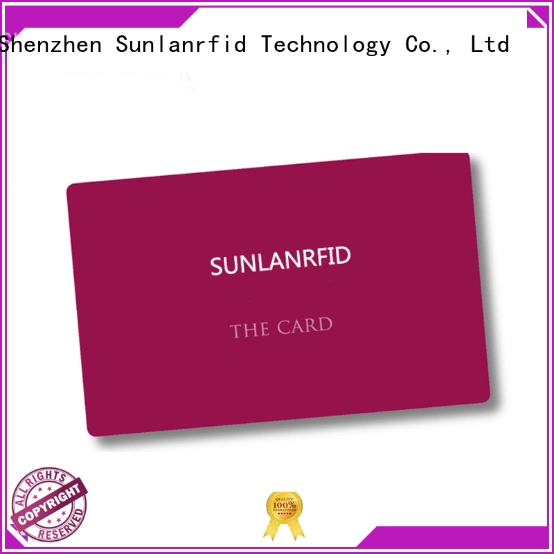 Sunlanrfid durable contactless smart card series for transportation
