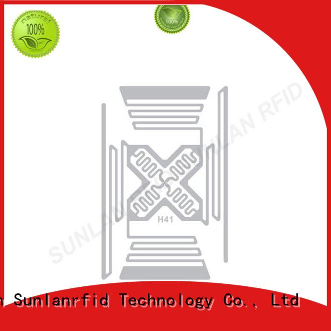Sunlanrfid inlay inlay label writer for transparent
