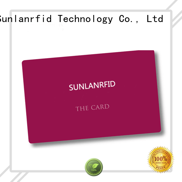 Sunlanrfid id free id card template manufacturer for daily life