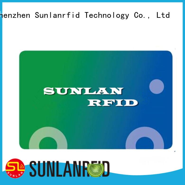 Sunlanrfid ultralight prepaid money cards series for shopping Center