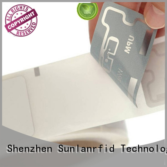 wet inlay rfid tag chip uhf wet Sunlanrfid Brand