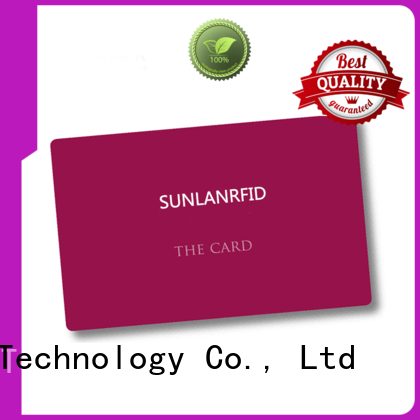 Sunlanrfid card free id card template wholesale for daily life