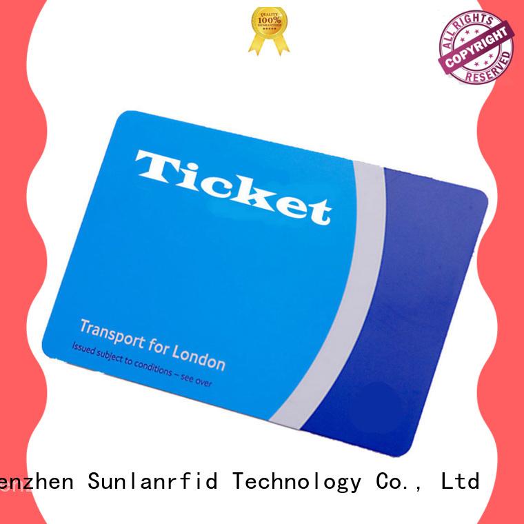 Hot train smart card card Sunlanrfid Brand