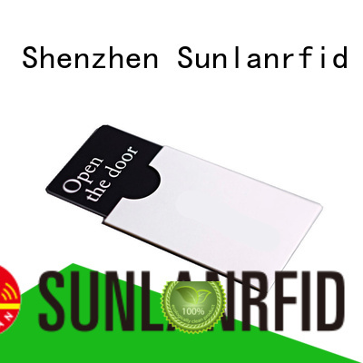 Sunlanrfid key card manufacturer for opening door